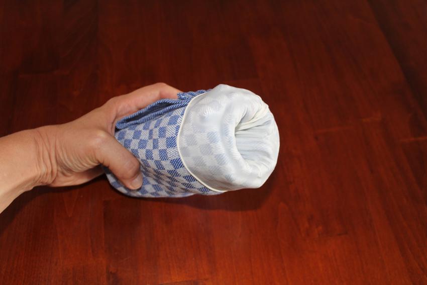 Muschi selber bauen Handtuchmuschi 5
